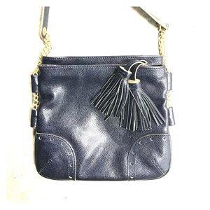 Handbags - Talbots Navy Crossbody Purse